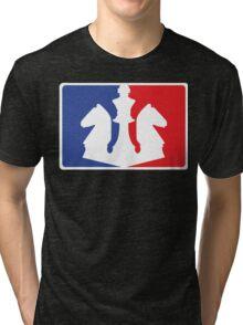 Disziplin Chess Logo Tri-blend T-Shirt