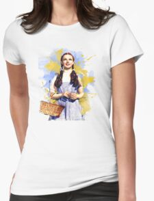 Dorothy Wizard of Oz Womens Fitted T-Shirt