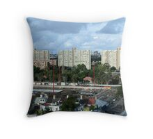 Three Sisters of Redfern Throw Pillow