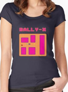 Rally X Women's Fitted Scoop T-Shirt