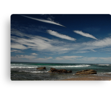 3 by 3: Sky by Sea, Werrong Beach Canvas Print