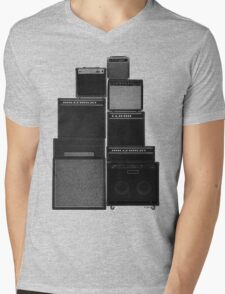 the great wall of LOUD Mens V-Neck T-Shirt