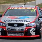 Lee Holdsworth in action by Angryman