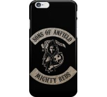 Sons of Anfield - Mighty Reds iPhone Case/Skin