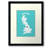 Home Sweet Home - Manchester City FC Framed Print