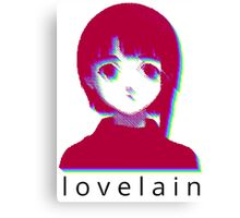 love lain Canvas Print