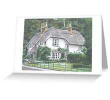 Swan Cottage, New Forest Greeting Card