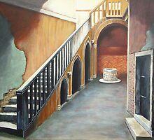 Casa Goldoni - Venice by Carole Russell