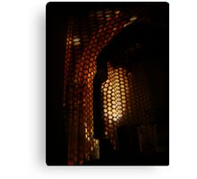 Perforated History. Canvas Print