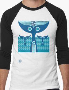 whale tails Men's Baseball ¾ T-Shirt