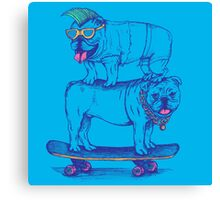 Double Dog Dare Canvas Print