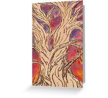 Naked Tree Greeting Card