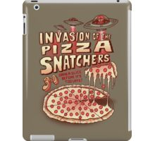 Invasion of the Pizza Snatchers iPad Case/Skin