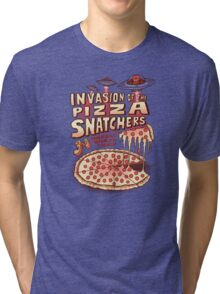 Invasion of the Pizza Snatchers Tri-blend T-Shirt