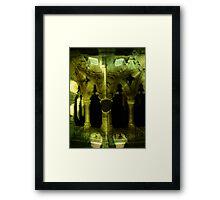 Gothic headbender. Framed Print
