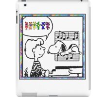 snoopy's notes iPad Case/Skin