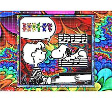 snoopy's notes Photographic Print