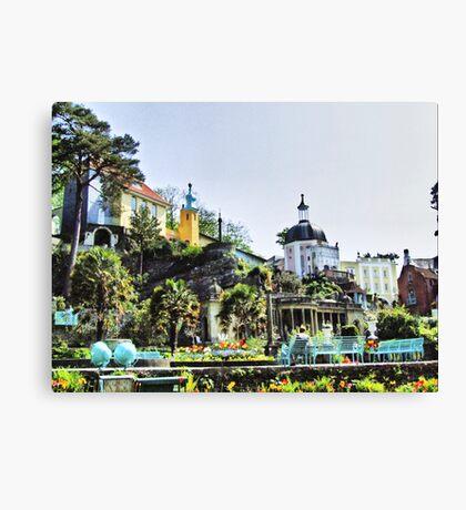 Portmeirion HDR Canvas Print