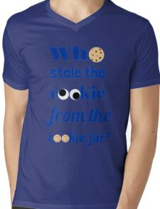 Who Stole The Cookie From The Cookie Jar? Mens V-Neck T-Shirt