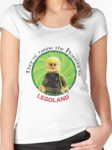Lego-Las Women's Fitted Scoop T-Shirt