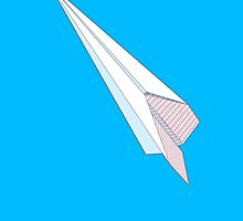 Paper airplane freedom  by goodedesign