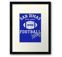 San Dimas High School Football Rules Framed Print