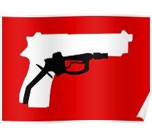 Oil Kills (white background) Poster