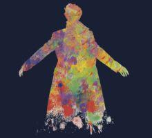 Sherlock Holmes Watercolour Splash Kids Clothes