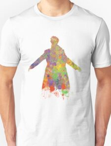 Sherlock Holmes Watercolour Splash Unisex T-Shirt