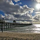 San Clemente Pier by Photobum