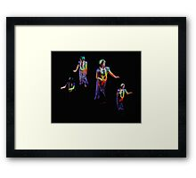 Hula Dance Framed Print