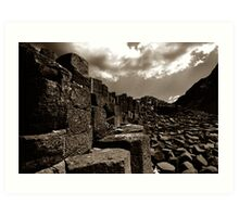 Causeway of Giants Art Print