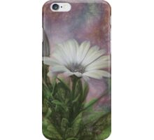 Sketchy Daisy In Mother Of Pearl iPhone Case/Skin