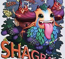 Shagbark bark bark by DeceptiBonk