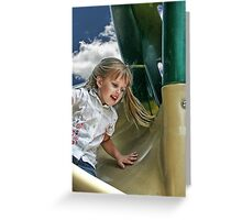 Speed Of Life Greeting Card