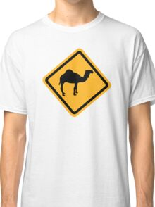 Dromedary traffic sign Classic T-Shirt