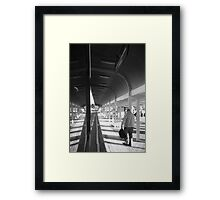Friday Night - The Interchange Framed Print