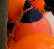 Orange Bubbles by Margestuff