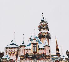 Disneyland Castle by whitneymicaela