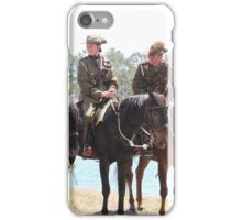 Mudgeeraba Light Horse Waiting For the Commemoration. iPhone Case/Skin