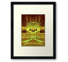 Martian Playground Framed Print