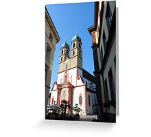 Photography: Lovely architecture in Germany. Greeting Card