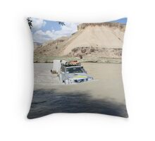 River... Throw Pillow
