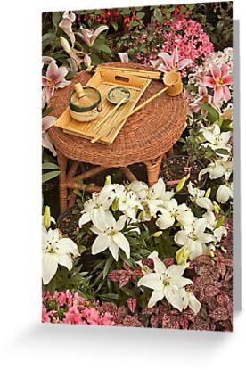 Tea Garden by Shannon Beauford
