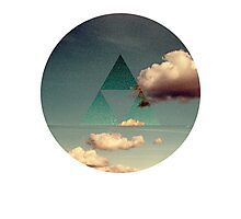 Triforce Clouds Photographic Print