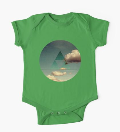 Triforce Clouds One Piece - Short Sleeve