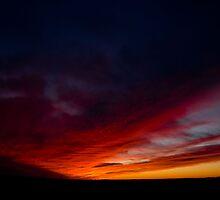 red sky by Erik Lewandowski