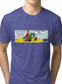 CORPORATE UNIFORM Tri-blend T-Shirt