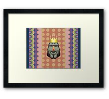 King of All Cosmos Framed Print