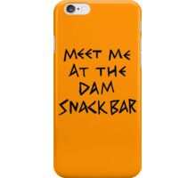The Dam Snack Bar iPhone Case/Skin